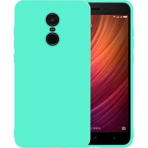 Силиконовый чехол iNavi Color Xiaomi Redmi Note 4x (Бирюзовый)