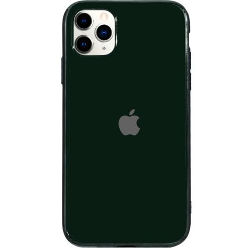 Силиконовый чехол Zefir Case Apple iPhone 11 Pro Max (Тёмно-зелёный)
