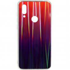Накладка Gradient Glass Case Xiaomi Redmi 7 (Красный)