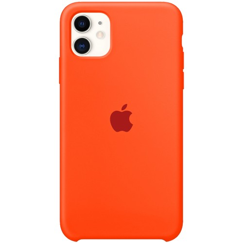 Силиконовый чехол Original Case Apple iPhone 11 (18) Orange