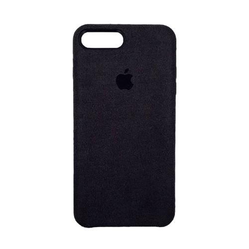 Чехол Alcantara Cover Apple iPhone 7 Plus / 8 Plus (Чёрный)