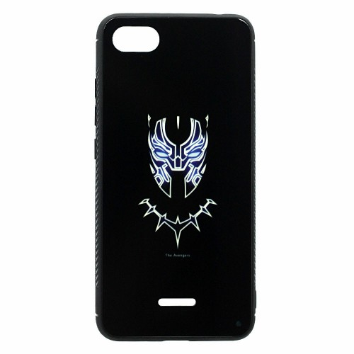 Накладка Luminous Glass Case Apple iPhone 7 / 8 (Black Panther)