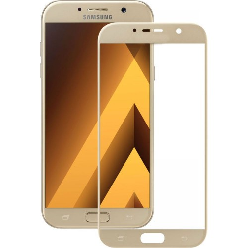 Стекло 3D Samsung Galaxy A3 (2017) A320 Gold