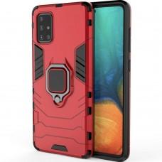 Бронь-чехол Ring Armor Case Samsung Galaxy A71 (2020) (Красный)