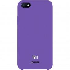 Силикон Original Case Xiaomi Redmi 6A (Фиолетовый)