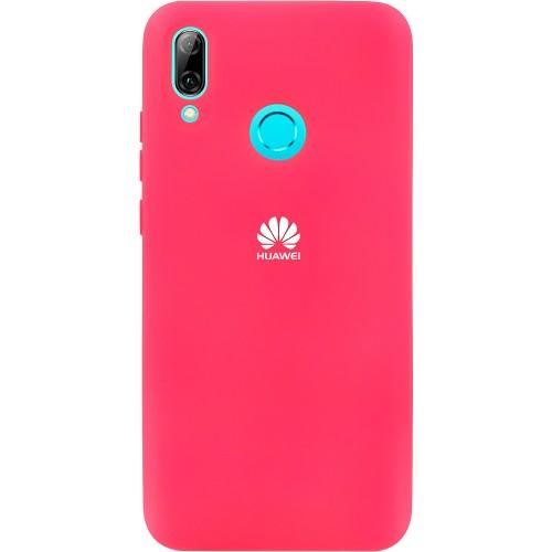 Силикон Original 360 Case Logo Huawei P Smart (2019) / Honor 10 Lite (Малиновый)..