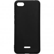 Силиконовый чехол iNavi Color Xiaomi Redmi 6A (чёрный)