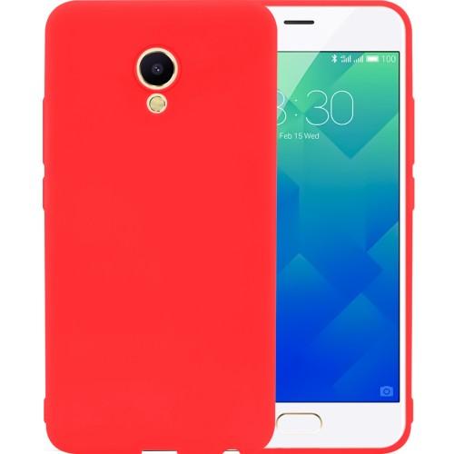 Силикон SMTT Meizu M6s (Красный)