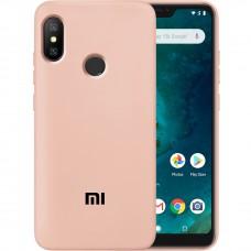 Силикон Original Case Xiaomi Mi6x / Mi A2 (Пудровый)