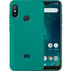 Силикон Original Case Xiaomi Mi6x / Mi A2 (Тёмно-зелёный)