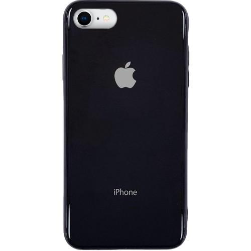 Накладка Premium Glass Case Apple iPhone 6 / 6s (Чёрный)