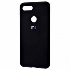 Силиконовый чехол Original Case Xiaomi Mi8 Lite (Чёрный)