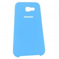 Силикон Original Case Samsung Galaxy A5 (2017) A520 (Голубой)