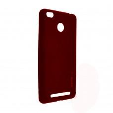Силиконовый чехол iNavi Color Xiaomi Redmi 3s / 3 Pro (Красный)