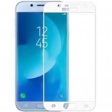 Защитное стекло для Samsung Galaxy J7 (2017) J730 White