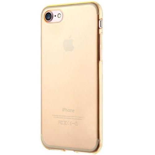 Силикон QU Case Apple iPhone 7 / 8 (Золотой)