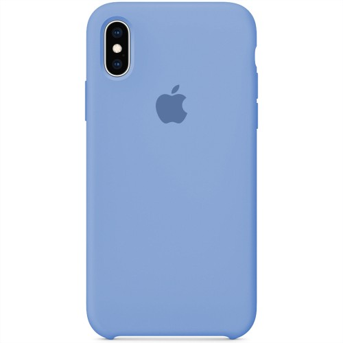 Силикон Original Case Apple iPhone X / XS (37) Azure