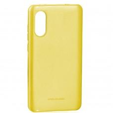 Силикон Molan Shining Xiaomi Mi6x / Mi A2 (Жёлтый)