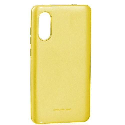 Силиконовый чехол Molan Shining Xiaomi Mi6x / Mi A2 (Жёлтый)