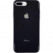 Накладка Premium Glass Case Apple iPhone 7 Plus / 8 Plus (Чёрный)
