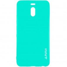 Силиконовый чехол iNavi Color Meizu M6 Note (Бирюзовый)