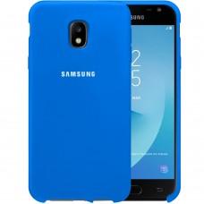 Силикон Original Case HQ Samsung Galaxy J3 (2017) J330 (Синий)