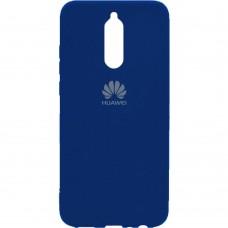 Силикон Original Case Huawei Mate 10 Lite (Тёмно-синий)