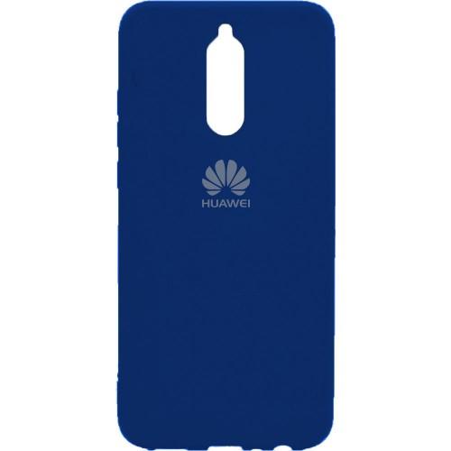 Силиконовый чехол Original Case Huawei Mate 10 Lite (Тёмно-синий)