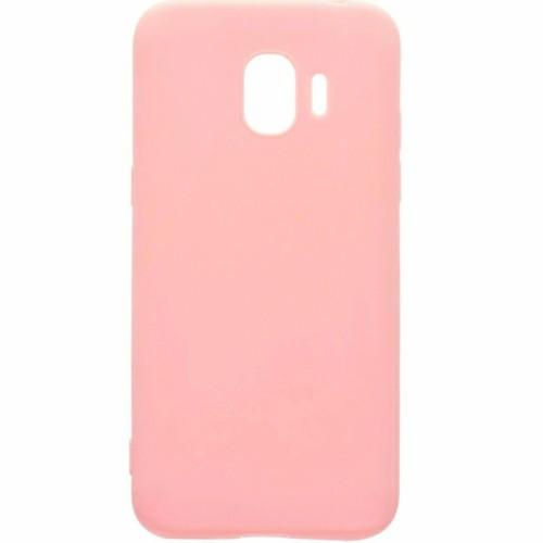 Силиконовый чехол iNavi Color Samsung Galaxy J2 (2018) J250 (розовый)