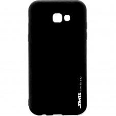 Силикон SMTT Samsung A5 (2017) A520 Черный
