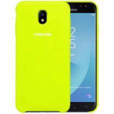 Силикон Original Case Samsung Galaxy J5 (2017) J530 (Лайм)
