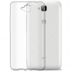 Силиконовый чехол TPU Huawei Y6 Pro (прозрачный)