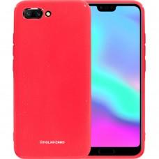 Силикон Molan Shining Huawei Honor 10 (Светло-красный)