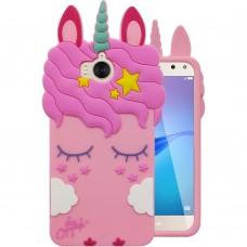 Силикон Little Pony Huawei Y5-2 (Единорог, Розовый)