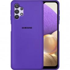 Силикон Original Case Samsung Galaxy A32 (2021) (Фиолетовый)