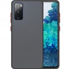 Накладка Totu Gingle Series Samsung Galaxy S20 FE (Чёрный)