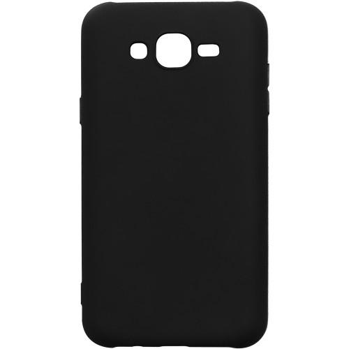 Силикон iNavi Color Samsung Galaxy J7 (2015) J700 (чёрный)