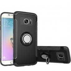 Бронь-чехол Ring Armor Case Samsung Galaxy S7 Edge (чёрный)