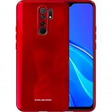 Силикон Molan Shining Xiaomi Redmi 9 (Красный)