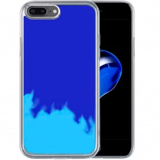 Чехол Aquarium Color Sand Apple iPhone 7 Plus / 8 Plus (Синий)