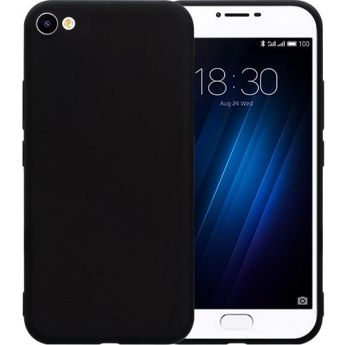Силиконовый чехол Graphite Meizu U10 (черный)