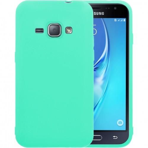 Силиконовый чехол iNavi Color Samsung Galaxy J1 (2016) J120 (Бирюзовый)
