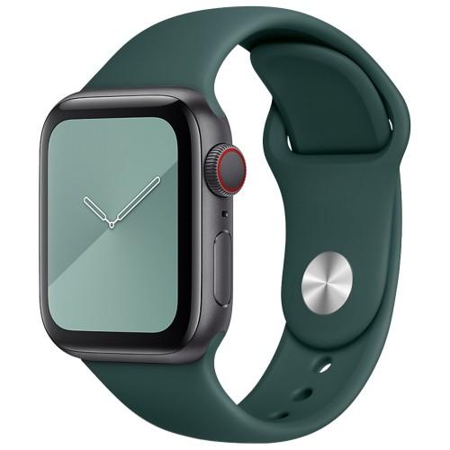 Ремешок Apple Watch Silicone 38 / 40mm (03) Dark Olive