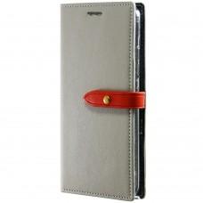 Чехол-книжка Goospery Canvas Diary Samsung Galaxy S7 (Бежевый)