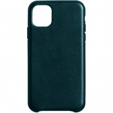 Чехол Leather Case for Apple IPhone 11 Pro Max (Forest Green)