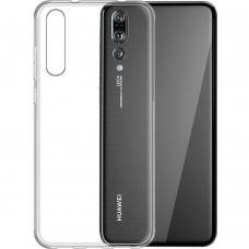 Силиконовый чехол WS Huawei P20 Pro (прозрачный)