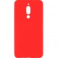 Силиконовый чехол Multicolor Meizu M6T (красный)