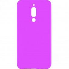 Силиконовый чехол Multicolor Meizu M6T (розовый)