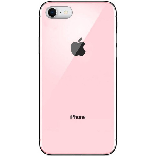 Накладка Premium Glass Case Apple iPhone 6 / 6s (Розовый)