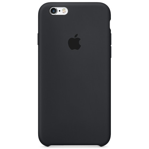 Силиконовый чехол Original Case Apple iPhone 6 / 6s (07) Black